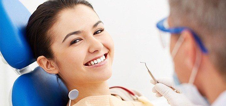 Профессиональная чистка зубов, реминерализация эмали зубов в стоматологическом центре «Кебот-Одесса»