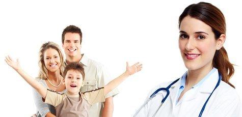 Обследование у терапевта в центре «МЕД+ОК»!