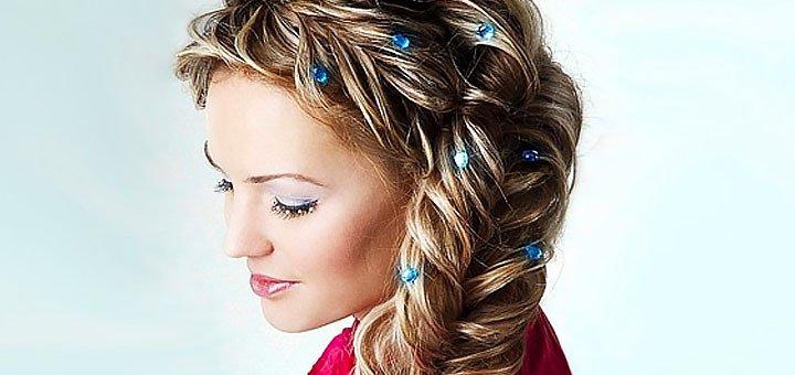 До 5 сеансов плетения, укладки, накрутки волос или обучение плетению кос в салоне красоты «City Style»
