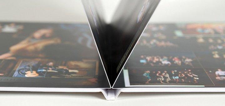 Печать фотокниги SlimBook из 24 страниц на фотобумаге разного формата в студии «Фотокнига+»