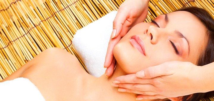 До 7 сеансов пластического массажа лица, шеи, декольте в кабинете косметологии «Кристалл»