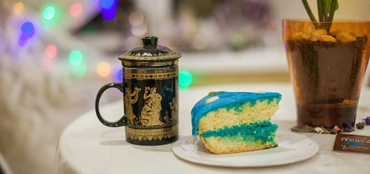 Cкидка 30% на кофе, чай и сладости из Греции в новой кофейнe «Santorini»