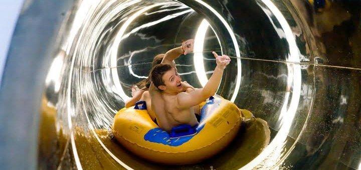 Знижка 50% на відвідування аквапарку «Пляж» у Львові. Водні атракціони, екстремальні гірки