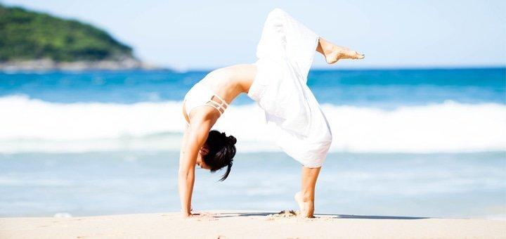 До 7 индивидуальных занятий йоги для позвоночника в Академии самореализации