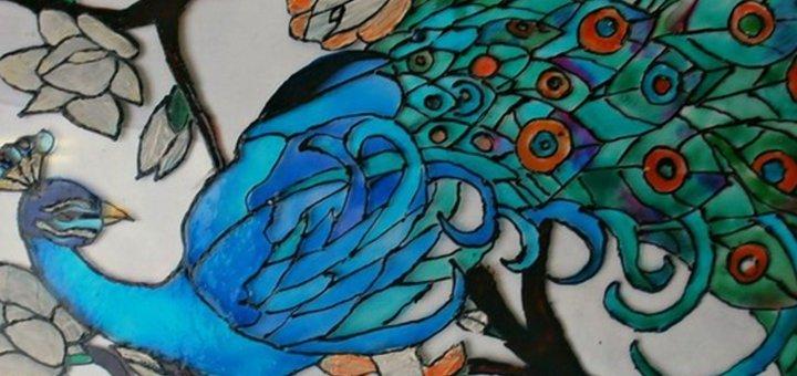 Мастер-класс Витражная роспись в студии художественного творчества «7 Чудес»