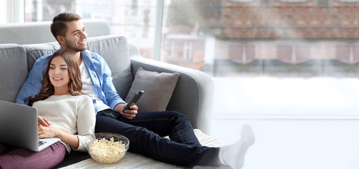Знижка 70% на підключення Інтернету та Телебачення от компании «Коло.ТБ»