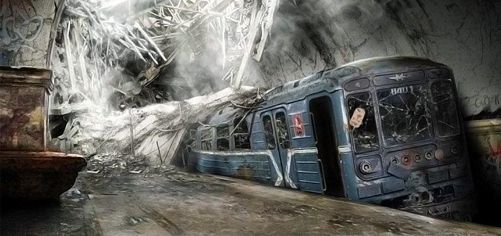 Посещение квеста «Заброшенная ветка метро» в квест-комнате The Game