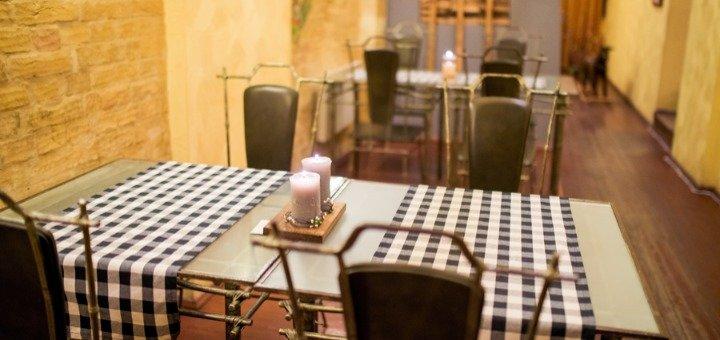 Скидка 40% на все меню в ресторане «Дилижанс»