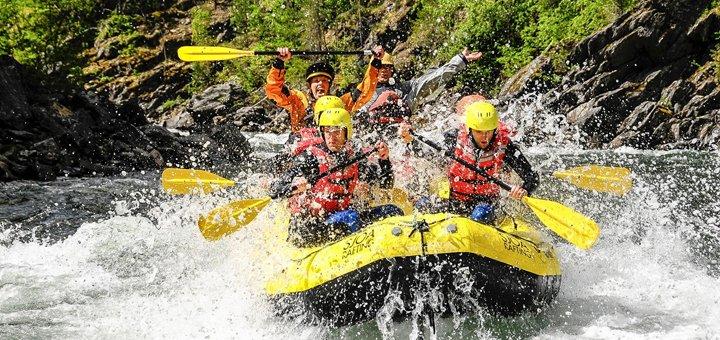 Рафтинг-тур на реке Черный Черемош с проживанием в отеле, трансфером из Киева и развлечениями