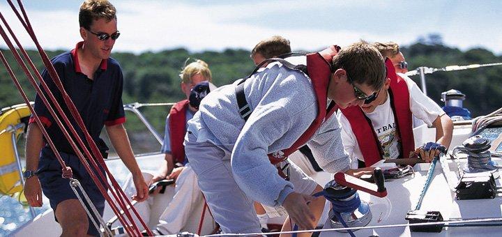 Курс управления яхтой с возможностью получения международных прав в «Парусной Академии»