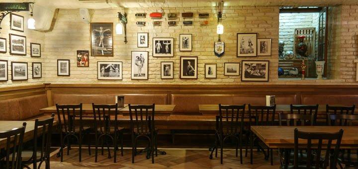 Скидка 40% на афганское и европейское меню и скидка 20% на бар в ресторане «ПроходимецЪ»