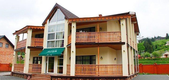 От 3 дней отдыха All Inclusive для двоих в отеле  «Золотая Подкова» в Славском