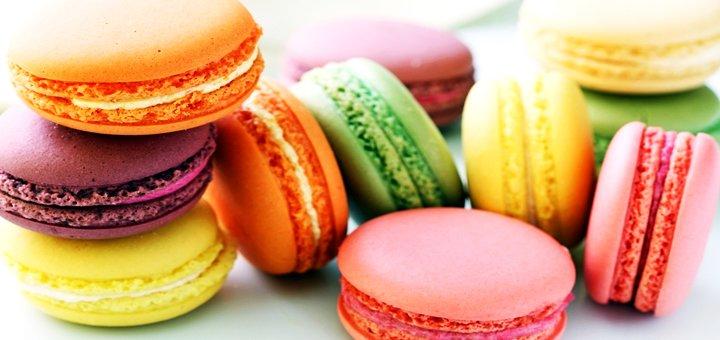 Скидка 50% на классические капкейки, макаруны и кейк-попсы