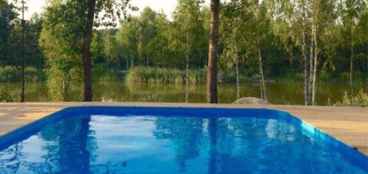 От 2 дней отдыха в будние дни для двоих в коттеджах комплекса «Relax villa Poduzska» под Киевом