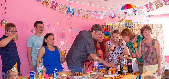 Празднование дня рождения ребенка в детском центре «Dream Park»