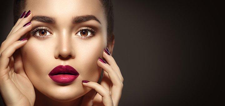 Моделирование и окрашивание бровей в студии красоты «13 район»