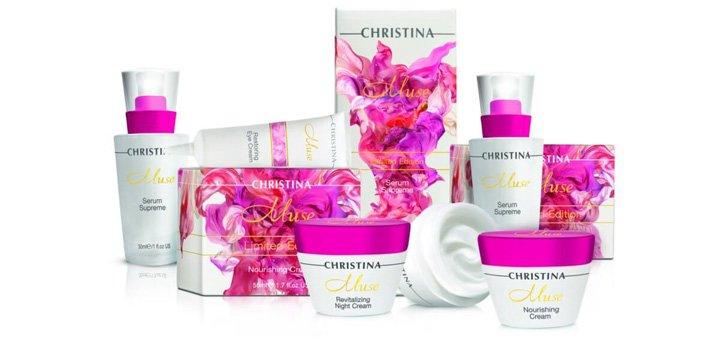 При покупке средства ТМ «Christina» - второе в подарок
