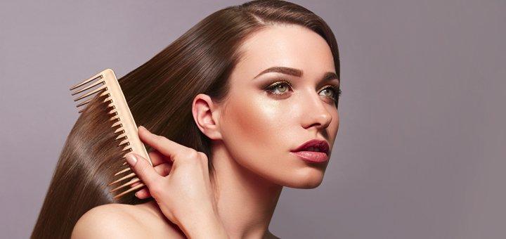 Кератинирование волос со стрижкой и укладкой в «Helena Exclusive & BSS»