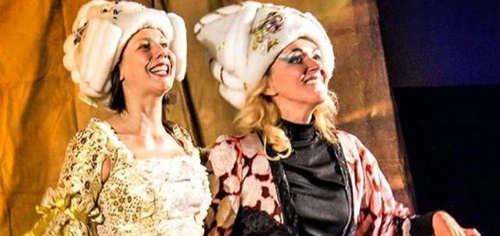 2 билета на спектакль Империя ангелов в театре «Визави»