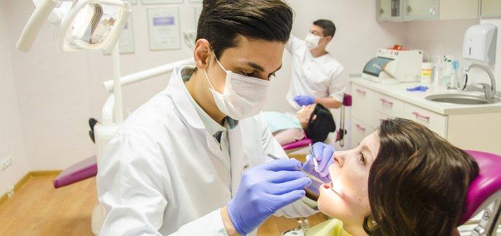 Ультразвуковая чистка зубов, Air Flow, фторирование в стоматологии «Klinik im Zentrum»