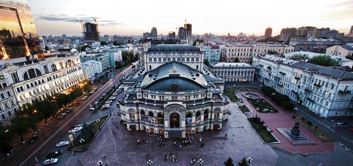 Автобусная обзорная экскурсия по Киеву «Город пятнадцати столетий»