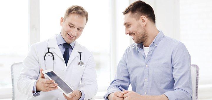 Обследование у уролога с анализами в медицинском центре «Уро-Про»