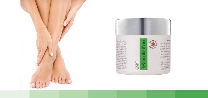 Скидка 30% на крем для сухих и потрескавшихся стоп  — «Dry & Cracked Feet»