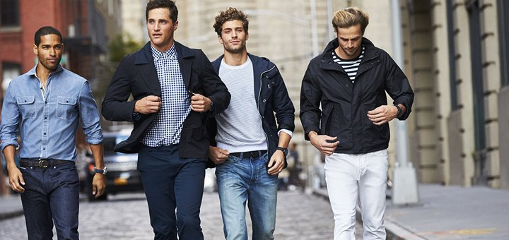 Скидка 60% на женскую и мужскую одежду и обувь коллекции «Nautica»