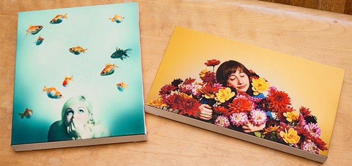 Печать любых изображений на холсте от студии фотопечати «Фигаро-Фото»