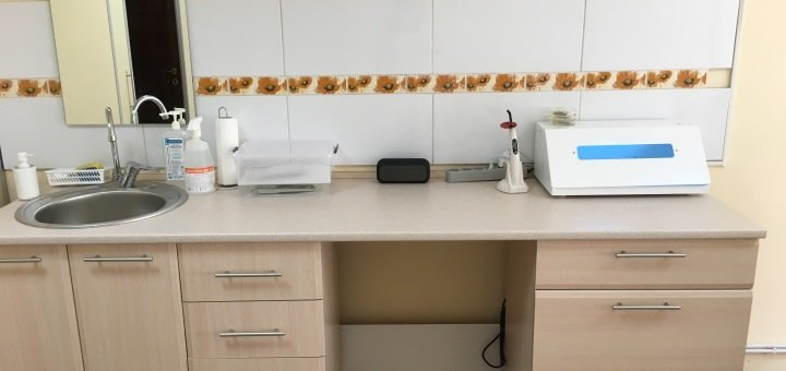 Отбеливание, чистка зубов и Air Flow с глубоким фторированием в «Ваша Лікарня»