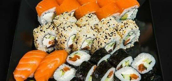Скидка 50% на всю японскую кухню с доставкой или самовывозом от компании «Фудзимама»