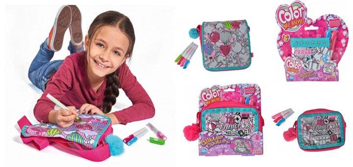 Скидка 10% на все сумки-разукрашки «Color me mine» в интернет-магазине «Simba-smoby.com.ua»