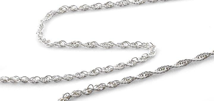 Скидка 30% на серебряные цепочки в «SVITOZAR»