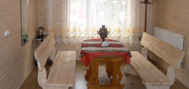 От 4 дней отдыха в отельном комплексе «Під Хом'яком» в Татарове