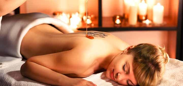 Программа классического массажа с медовым пилингом в салоне красоты «Релакс & SPA»