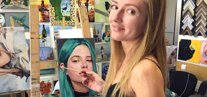 Мастер-класс по живописи маслом в студии живописи «LOVE-ART»