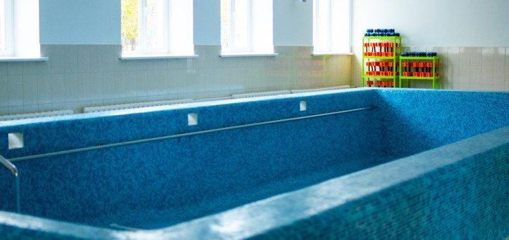Утренний абонемент на 18 занятий в бассейне «Перша школа плавання»