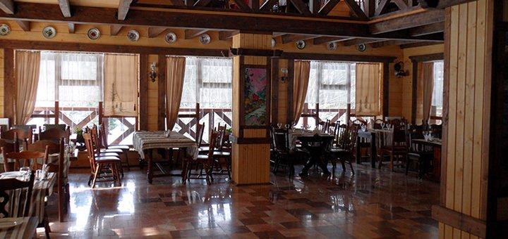 От 3 дней отдыха в январе и феврале с питанием и сауной в отеле «Пацьорка» вблизи Буковеля