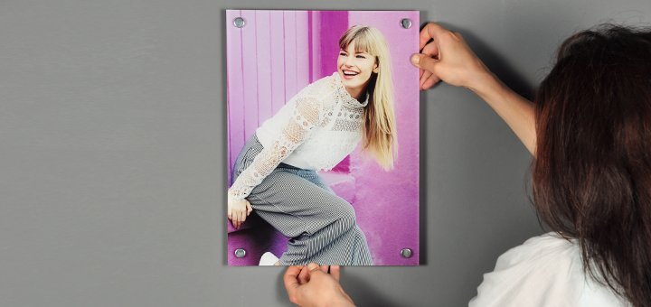 Новогодняя скидка 30% на печать картин на акриле от сервиса «FotoMe.ua»