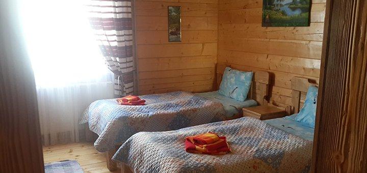 От 3 дней отдыха с питанием в эко-вилле «ДаЯрТа» в Сходнице возле источников «Нафтуся»