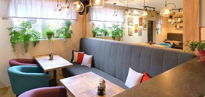 Скидка 50% на все меню кухни и 30% на бар от заведения «Pizza Tasso Trattoria»
