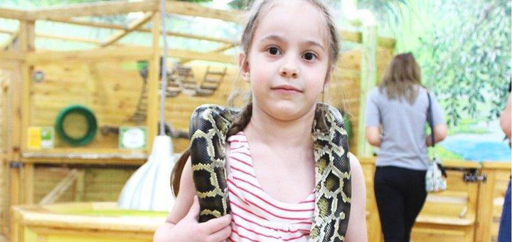 Билеты на посещение контактного зоопарка «Звірополіс» в любой день