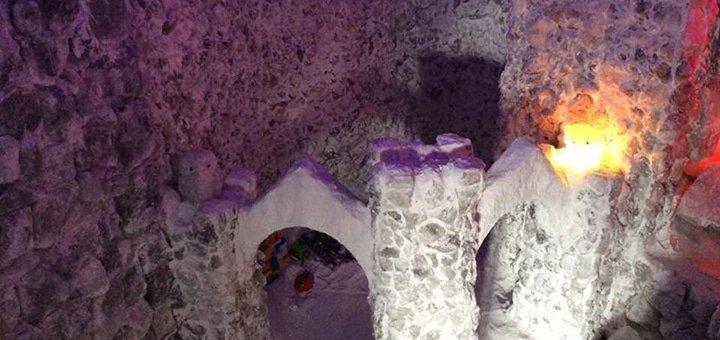 До 20 посещений соляной пещеры «Соляна Фортеця» для ребенка или взрослого
