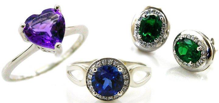 Скидка 25% на серебряные украшения с натуральными камнями в магазине «14 Карат»