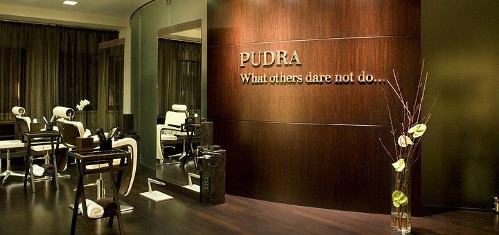 Маникюр, педикюр и покрытие Shellac в бутик-салоне премиум класса «Pudra»