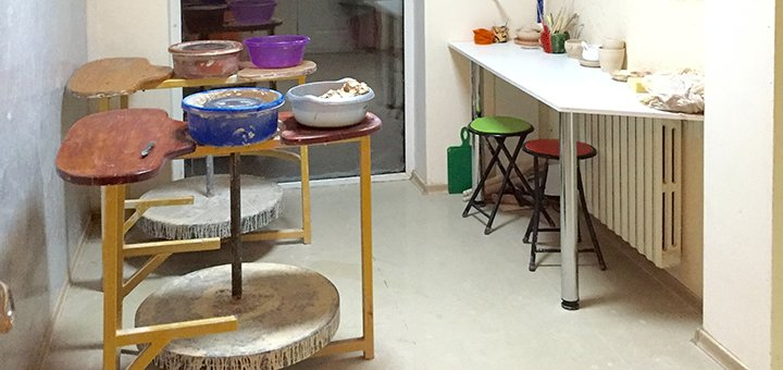 До 5 занятий гончарным ремеслом в студии «Green Art»