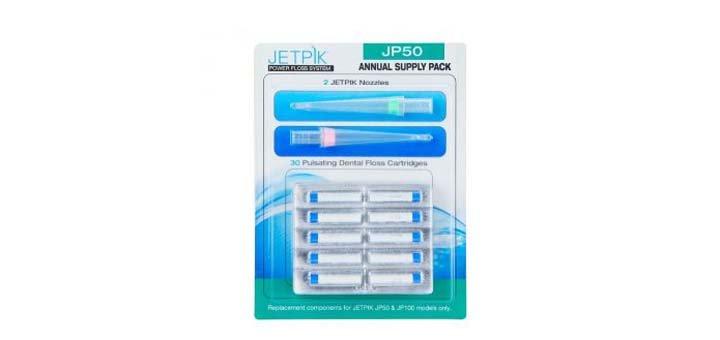 Скидка 5% на аксессуары к ирригаторам и зубным центрам «JETPIK»