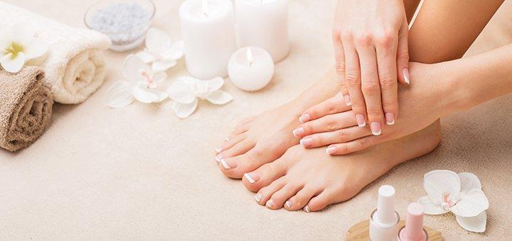 Маникюр, педикюр, SPA-уход и покрытие гель-лаком  в «Beauty studio AY»
