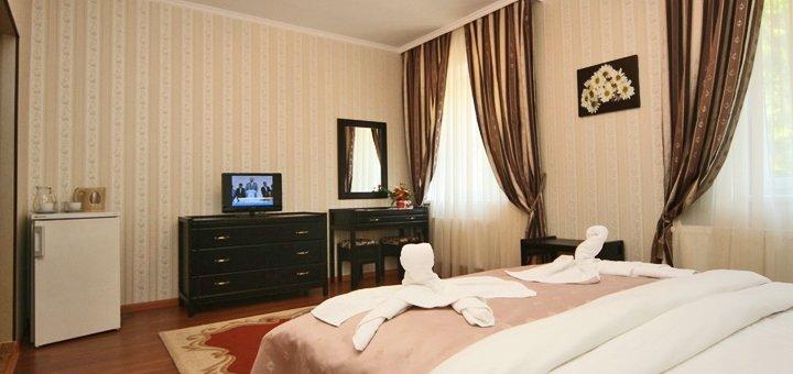 От 3 дней VIP-отдыха со SPA-оздоровлением в гостиничном комплексе «Фантазия» в Поляне