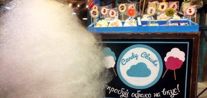 Скидка 25% на сладкую вату на праздник от компании «Candy Clouds»